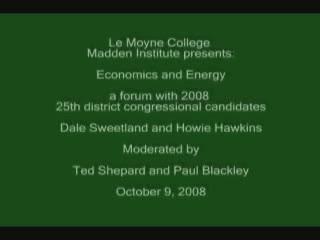 Congressional Debate<br />10/9/2008